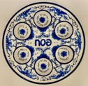 Delft-look-ceramic-Seder-plate-no-artist