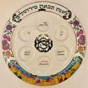 Fred-Spinowitz-Jersalem-Seder-plate