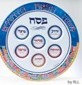 Jerusalem-melamine-Seder-plate-no-artist