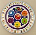 Melamine-children's-Seder-plate-no-artist