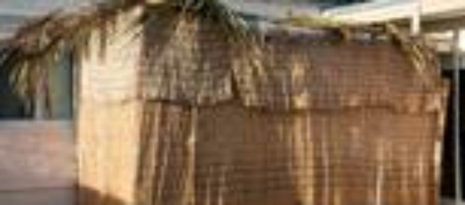Sukkah hut